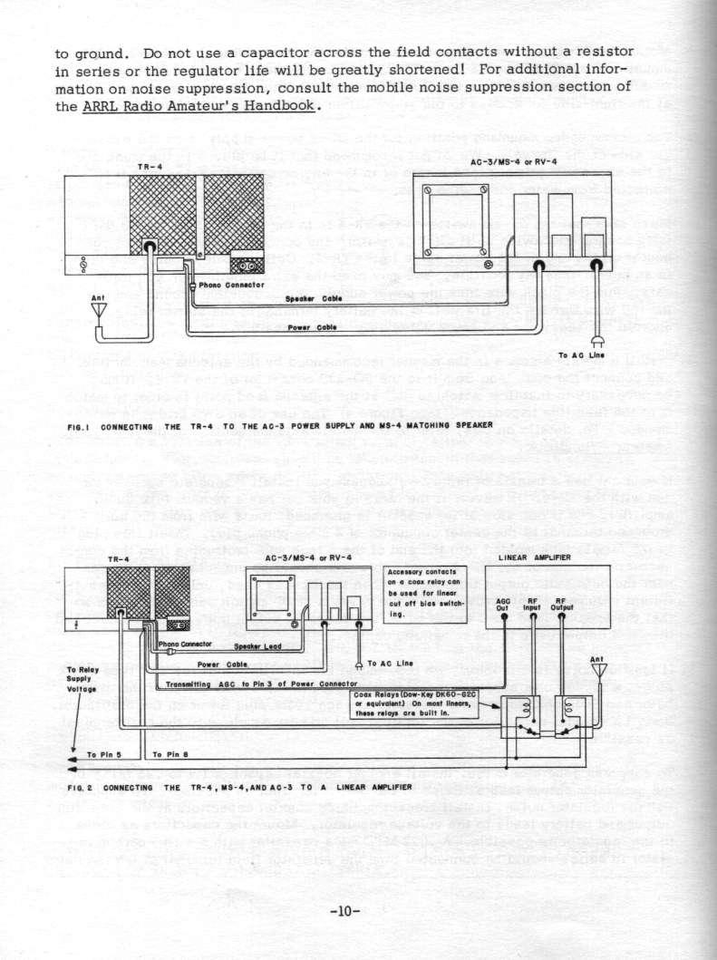 Manual Display Page Tr4 Wiring Diagram Pg 10