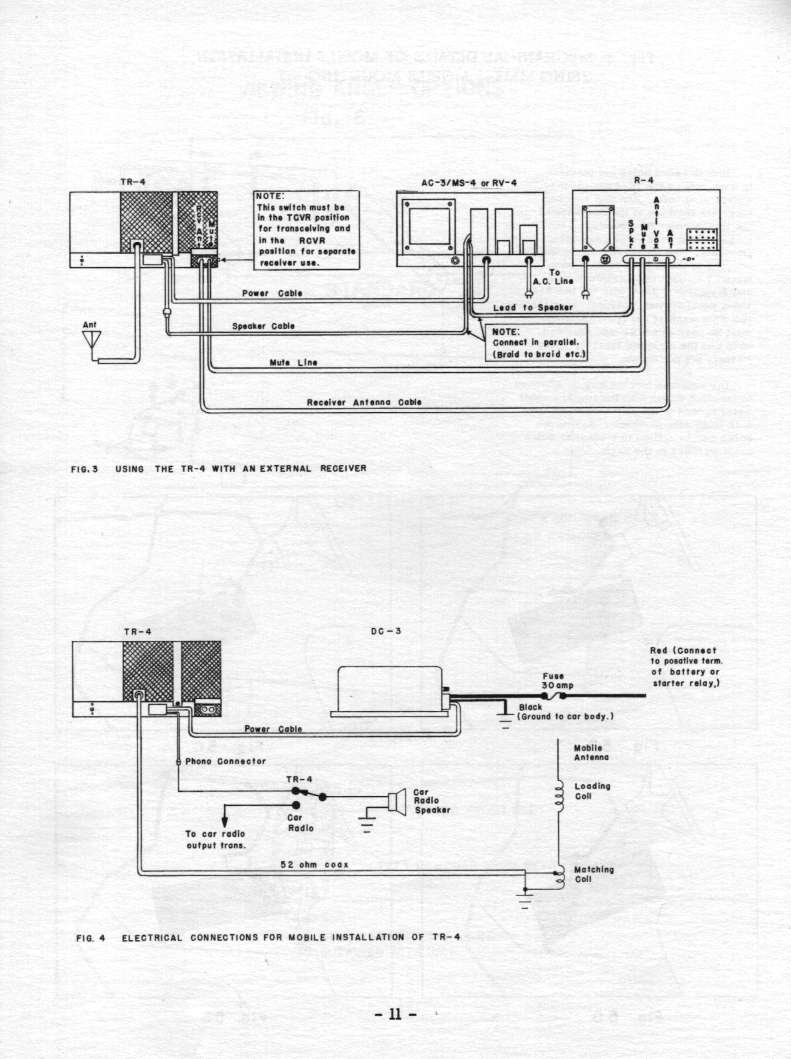 Manual Display Page Tr4 Wiring Diagram Pg 11