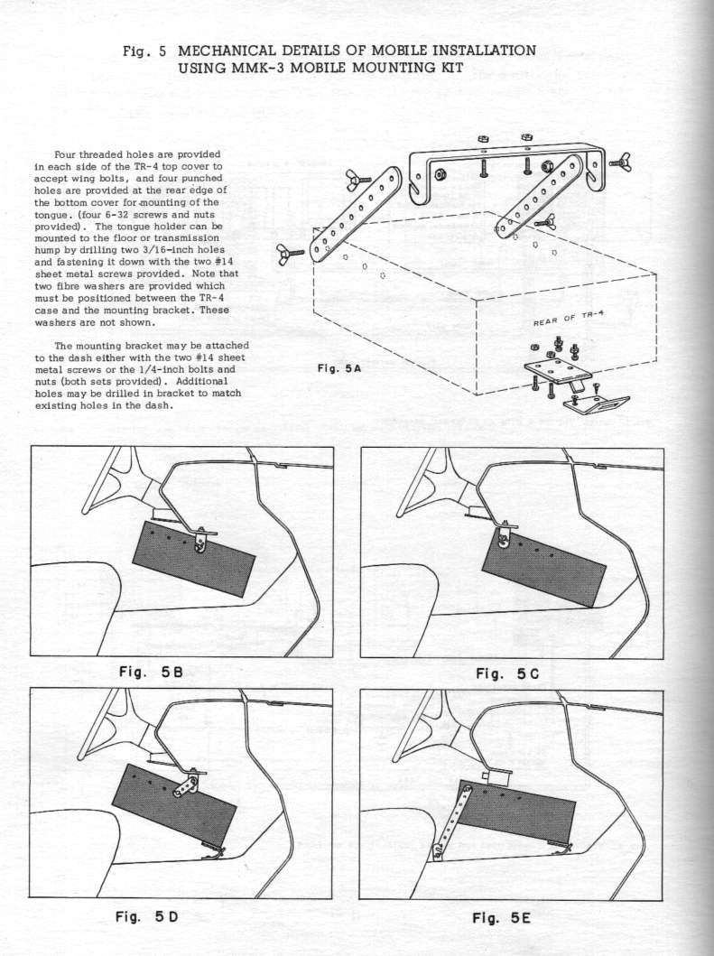 Manual Display Page Tr4 Wiring Diagram Pg 12